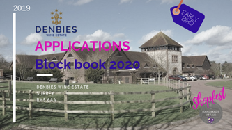 We are now taking EARLY BIRD applications to block book ALL 2020 DATES